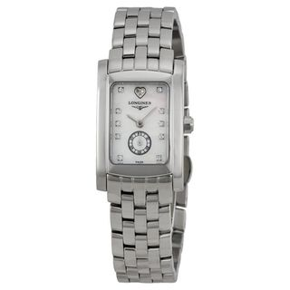 Link to Longines Women's L51554946 'Dolce Vita' Diamond Stainless Steel Watch Similar Items in Women's Watches