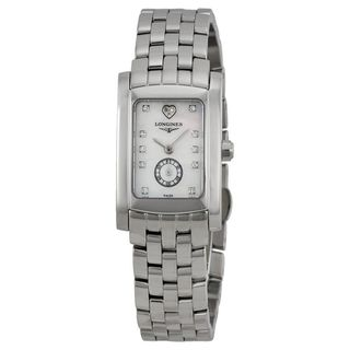Longines Women's L51554946 'Dolce Vita' Diamond Stainless Steel Watch