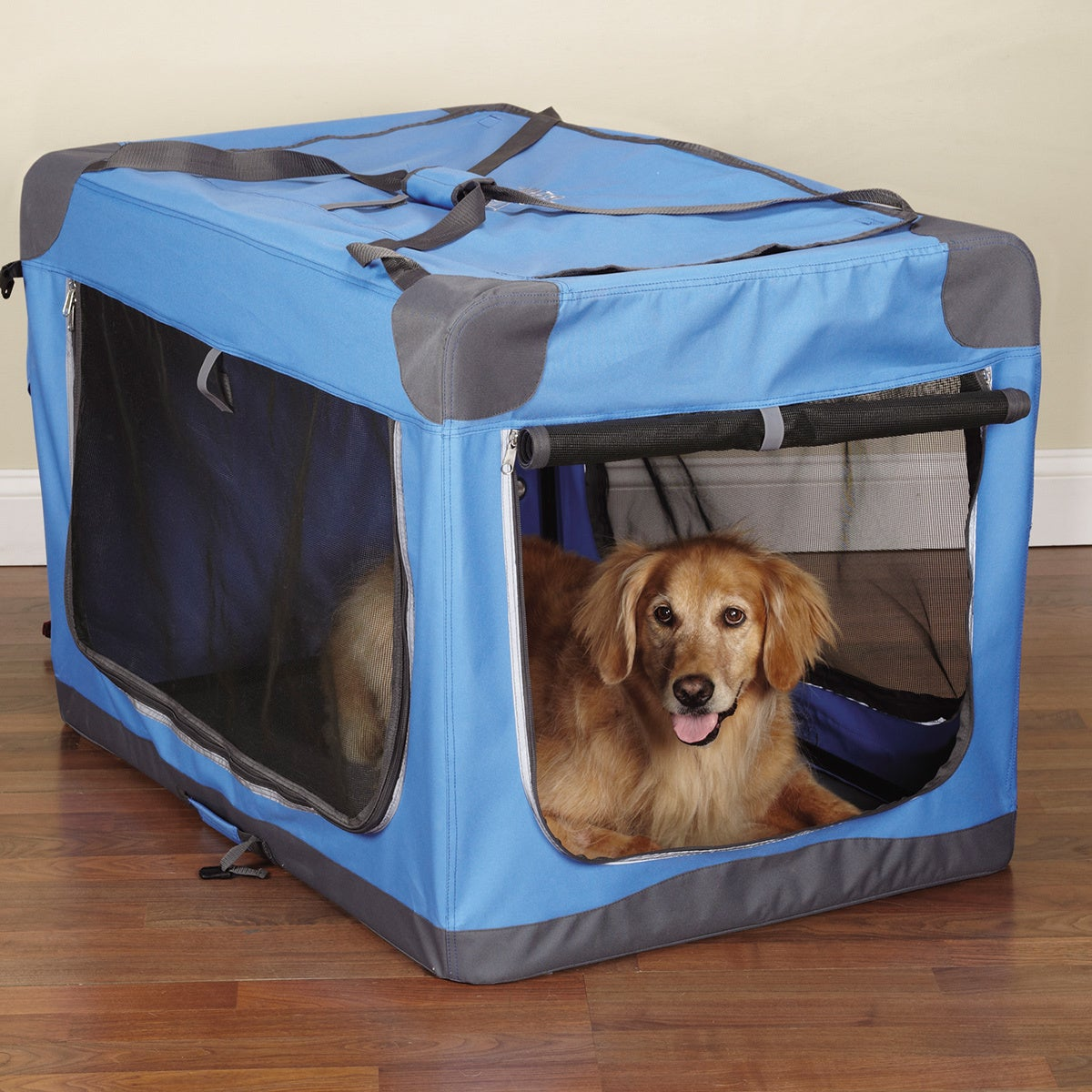 Guardian Gear Pioneer Soft Dog Crate (Red)