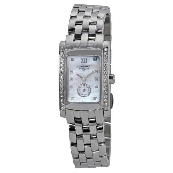 Longines Women's L51550846 'Dolce Vita' Diamond Stainless Steel Watch. Opens flyout.
