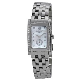 Longines Women's L51550846 'Dolce Vita' Diamond Stainless Steel Watch