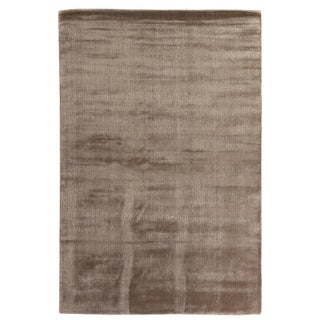 Exquisite Rugs Super Gem Mink Viscose from Bamboo Silk Rug (6' x 9')