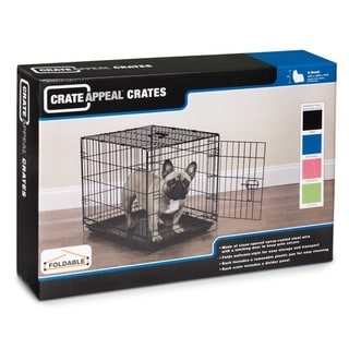 ProSelect Pink Dog Crate