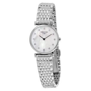 Link to Longines Women's L47094876 'La Grandes Classiques Flagship' Diamond Stainless Steel Watch Similar Items in Women's Watches