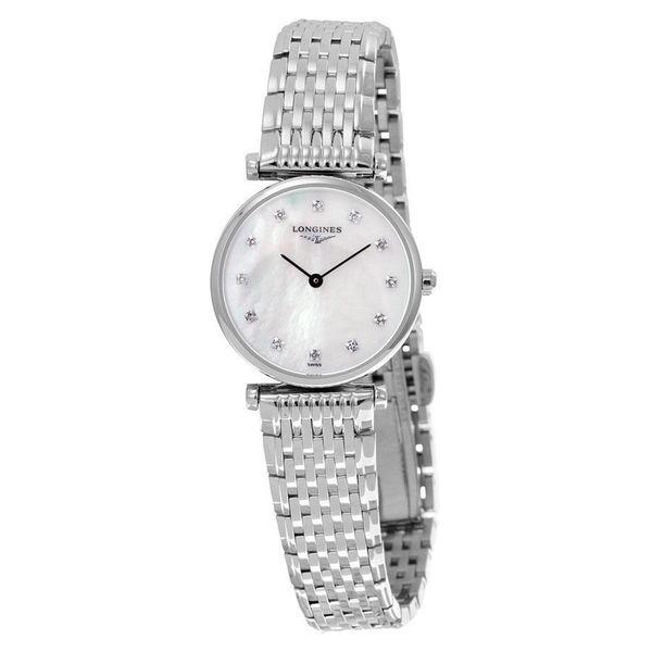 Longines Women's L47094876 'La Grandes Classiques Flagship' Diamond Stainless Steel Watch. Opens flyout.
