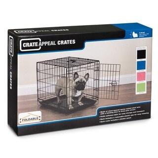 ProSelect Blue Foldable Dog Crate