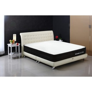 Dreaming Kitten 12-inch King-size Gel Memory Foam and Pocket Spring Mattress