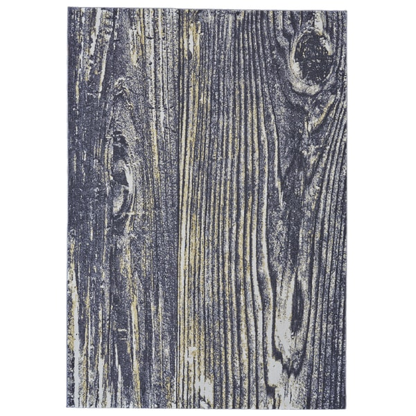 Grand Bazaar Zaiden Charcoal Area Rug - 8' x 11'