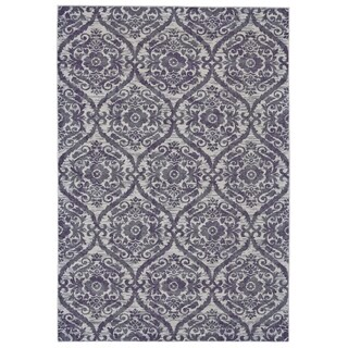 Grand Bazaar Saunders Haze Multicolor Polypropylene Machine-made Rug (10' x 13'2)