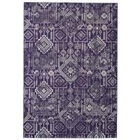 Grand Bazaar Undira Violet Area Rug - 10' x 13'2