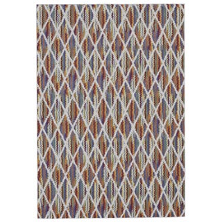 Grand Bazaar Saunders Multicolored Polypropylene Machine-made Rug (10' x 13'2)