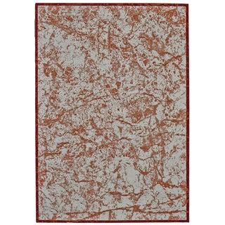 Grand Bazaar Off-white/Orange/Red Polypropylene Power-loomed Rug (10' x 13'2)