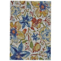 "Grand Bazaar Tiera Meadow Area Rug (10' x 13'2"") - 10' x 13'"