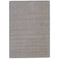 "Grand Bazaar Sheena Birch / Taupe Area Rug - 2'2"" x 4'"