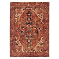 Exquisite Rugs Serapi Red New Zealand Wool Rug - 15' x 20'