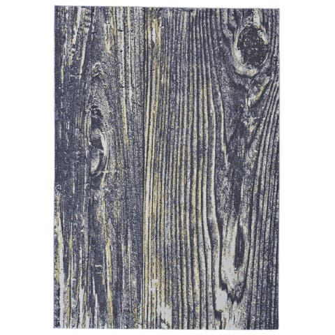 "Grand Bazaar Zaiden Charcoal Area Rug - 2'2"" x 4'"