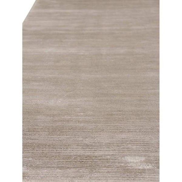 Exquisite Rugs Swell Silver Viscose Rug - 14' x 18'