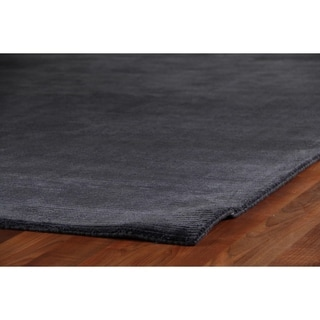 Exquisite Rugs Swell Navy Viscose Rug (14' x 18')