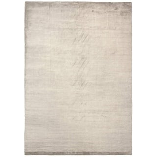 Exquisite Rugs Swell Beige Viscose Rug (14' x 18')