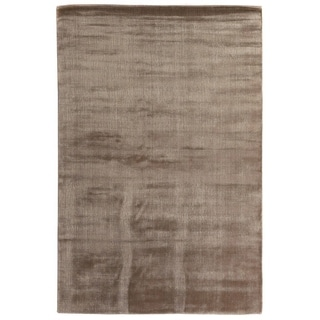 Exquisite Rugs Super Gem Mink Rayon from Bamboo Bamboo Silk Rug (14' X 18')