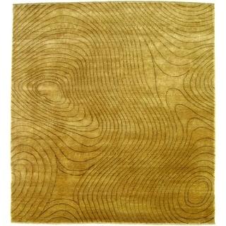 Exquisite Rugs Metropolitan Beige New Zealand Wool Rug (14' x 18')