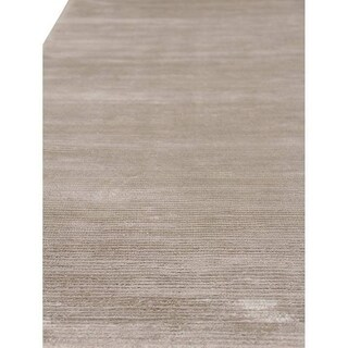 Exquisite Rugs Swell Silver Viscose Rug - 12' x 15'