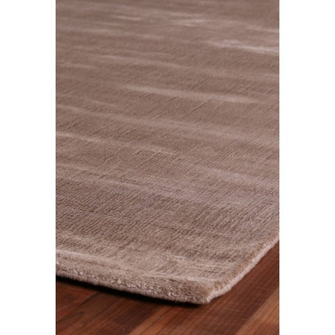Exquisite Rugs Super Gem Mink New Zealand Wool and Bamboo Silk Rug - 12' x 15'