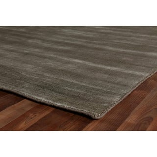 Exquisite Rugs Super Gem Bronze Bamboo Silk Rug (12' X 15')
