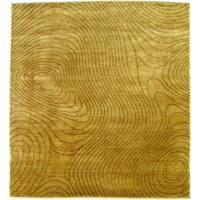 Exquisite Rugs Metropolitan Beige New Zealand Wool Rug - 12' x 15'