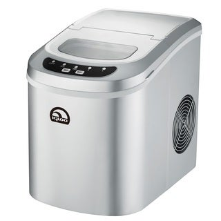 Igloo Silver Portable Countertop Ice Machine
