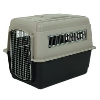 Petmate Ultra Vari Black, Tan Metal Dog Kennel and Crate
