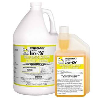 Top Performance Lemon 256 Disinfectant Galllon for Crates and Kennels