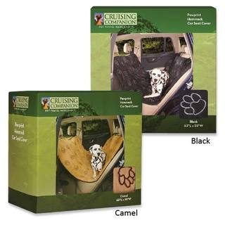 Cruising Companion Pawprint Hammock Car Seat Cover