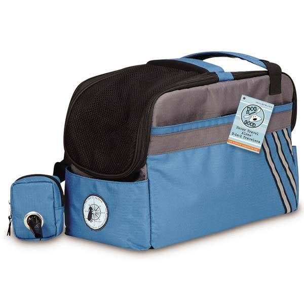Dog is Good Never Travel Alone 2-in-1 Travelers Pet Car S...