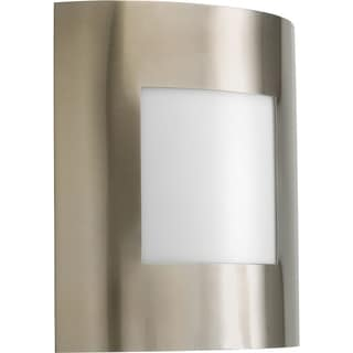 Progress Lighting P5736-09 Anson Grey Nickel Finish One-Light Wall Lantern