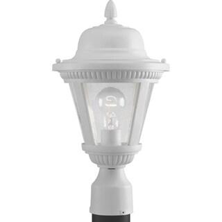 Progress Lighting P5445-30 Westport White Incandescent One-light Post Lantern