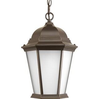 Progress Lighting Welbourne Brown Aluminum and Glass 1-light Hanging Lantern