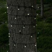 Pure Garden 39-foot Solar LED String Lights (100 LED Lights)