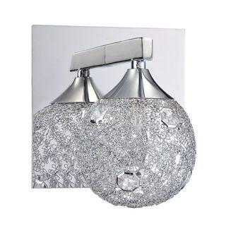 Alma 1-Light Chrome Bath Vanity