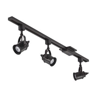 Lithonia Lighting LTKSPLT MR16GU10 LED 27K ORB M4 3-light LED 44.5-inch Oil-Rubbed Bronze Spotlight Track Lighting Kit