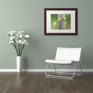 Kurt Shaffer 'New Growth' Matted Framed Art