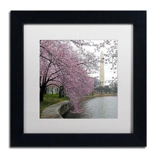 CATeyes 'Washington Blossoms' Matted Framed Art