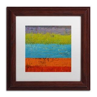 Michelle Calkins 'Wetlands' Matted Framed Art