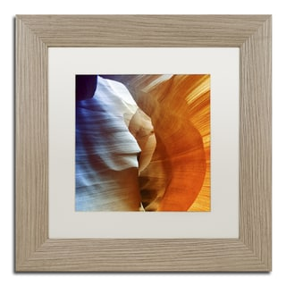 Philippe Hugonnard 'Antelope Canyon' Matted Framed Art