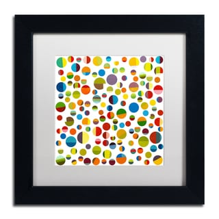 Michelle Calkins 'Found My Marbles 3.0' Matted Framed Art