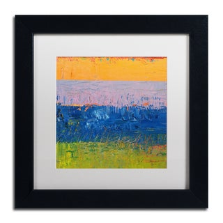 Michelle Calkins 'Thistle Field' Matted Framed Art