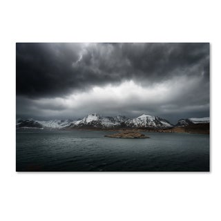 Philippe Sainte-Laudy 'Grey' Canvas Art
