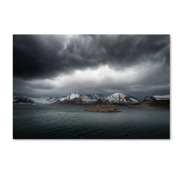 Philippe Sainte-Laudy 'Grey' Canvas Art - Multi
