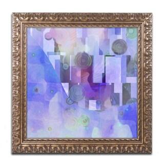 Adam Kadmos 'Artdeco' Ornate Framed Art