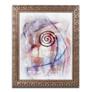 Adam Kadmos 'Freeform' Ornate Framed Art